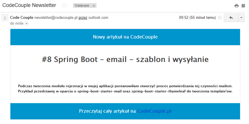 SpringBoot mail