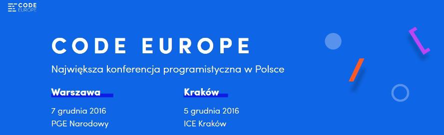 CodeEurope2016